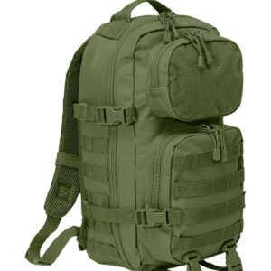 Brandit Patch Assault Rygsæk - 25 Liter (Oliven, One Size)
