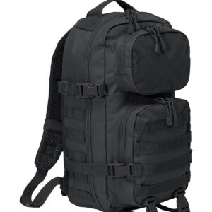 Brandit Patch Assault Rygsæk - 25 Liter (Sort, One Size)
