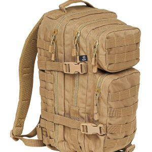 Brandit U.S. Assault Rygsæk, Medium (Beige, M)
