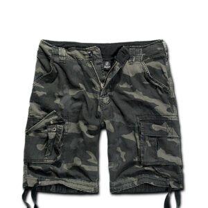 Brandit Urban Legend Shorts (Black Camo, 2XL)