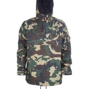 Dickies Pollard Anorak / Windbreaker (Camouflage, XL)