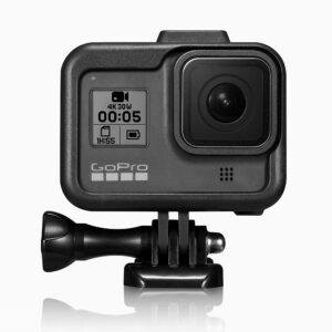 GoPRO Hero 8 - Beskyttelses hus/cover i ABS+PC - Sort