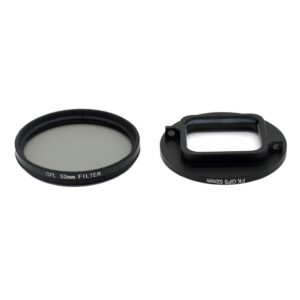 GoPro Hero 7/6/5 - 52mm CPL polarisator filter linse