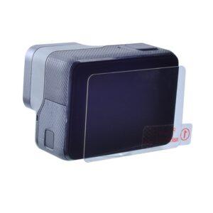 GoPro Hero 7/6/5 - Hærdet beskyttelsesglas + linse cover (2stk.)