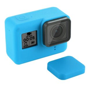 GoPro Hero 7/6/5 - PULUZ PU189 - Silikone beskyttelses hus/cover - Blå