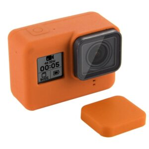 GoPro Hero 7/6/5 - PULUZ PU189 - Silikone beskyttelses hus/cover - Orange