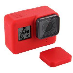 GoPro Hero 7/6/5 - PULUZ PU189 - Silikone beskyttelses hus/cover - Rød