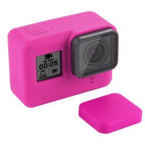GoPro Hero 7/6/5 - PULUZ PU189 - Silikone beskyttelses hus/cover - Rosa