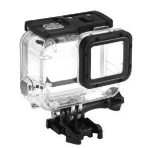 GoPro Hero 7/6/5 SHOOT vandtæt hus/cover 45m m/linse cap