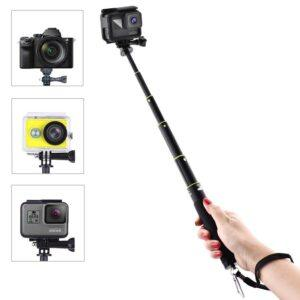 GoPro Hero 7/6/5/4/3 - Justerbar selfiestick