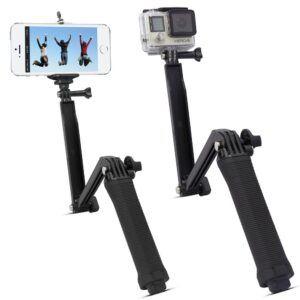 GoPro Hero 7/6/5/4/3/2/1 - Justerbar selfiestang vandtæt