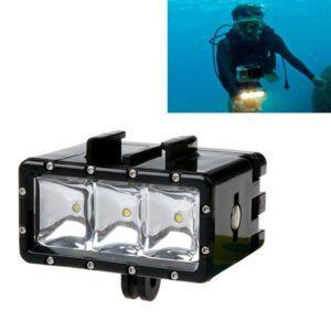 GoPro Hero 7/6/5/4/3/2/1 - Vandtæt LED dykker lampe