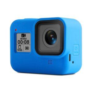 GoPro Hero 8 - Blød silikone beskyttelses cover - Blå