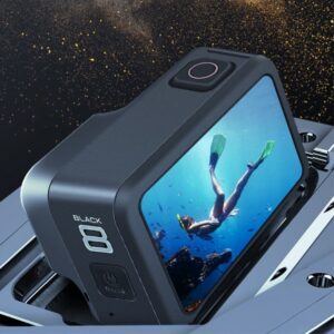 GoPro Hero 8 - Blød silikone beskyttelses cover - Mørkeblå