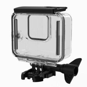 GoPro Hero 8 - Vandtæt beskyttelses hus/cover 60m - Transparent