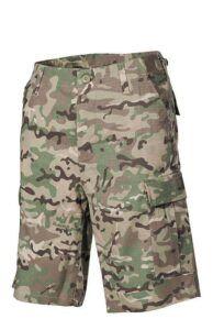 MFH U.S. BDU Bermuda shorts (Multi Camo, L)