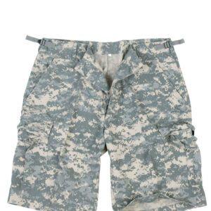 Mil-Tec Bermuda Shorts (ACU Camo, XL)
