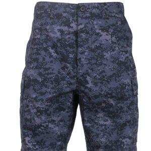 """Rothco BDU Shorts (Digital Midnat Camo, X-Large / 35""""-43"""")"""