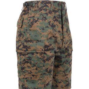 """Rothco BDU Shorts (Digital Woodland, 2XL / 43""""-47"""")"""