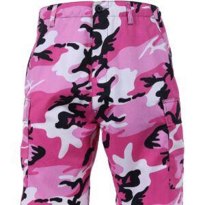 "Rothco BDU Shorts (Pink Camo, 2XL / 43""-47"")"