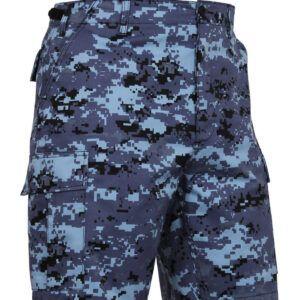 """Rothco BDU Shorts (Sky Blue Digital Camo, 2XL / 43""""-47"""")"""