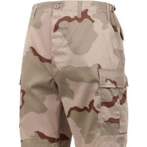 "Rothco BDU Shorts (Tri-Color, Large / 35""-39"")"