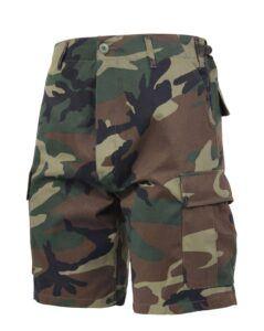 "Rothco BDU Shorts (Woodland, X-Large / 39""-43"")"