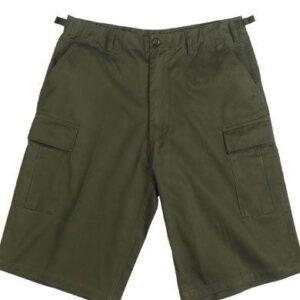 Rothco BDU Shorts med Længde (Oliven, L)