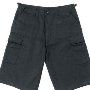 Rothco BDU Shorts med Længde (Sort, L)