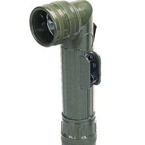 Rothco D-Batteri Anglehead Militærlygte (Oliven, One Size)
