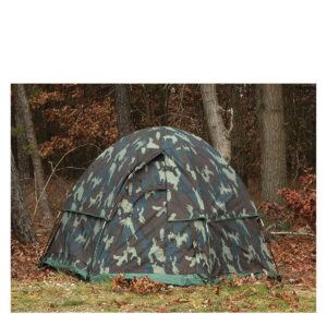 Rothco Hexagon Dome Telt - 3-Pers. (Woodland, One Size)