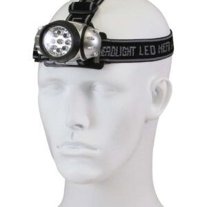 Rothco Pandelampe 9-LED (Sort, One Size)