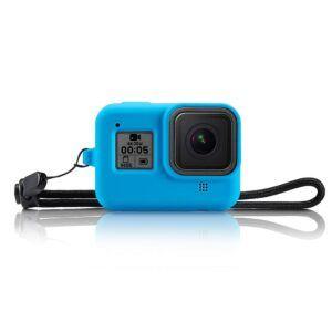 GoPro Hero 8 - Silikone beskyttelses cover/hus - Blå