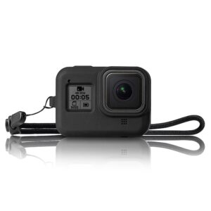 GoPro Hero 8 - Silikone beskyttelses cover/hus - Sort