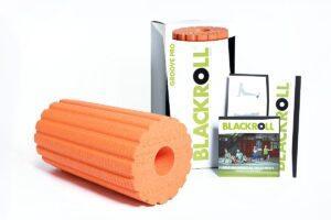 Blackroll Foam Roller Groove Pro Orange 30cm