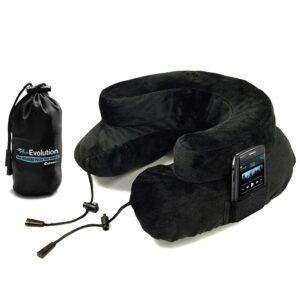 Cabeau Air Evolution Travel Pillow, BLACK