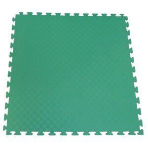 Ergofloor - EVA Sikkerhedsmåtte 1000x1000 Grøn/Grå