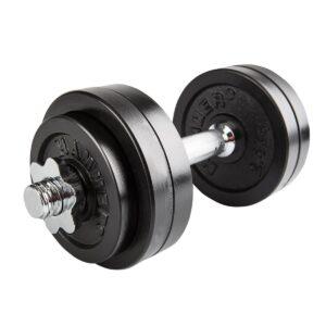 Finnlo Dumbbell Set Black Justerbar Håndvægt 15kg