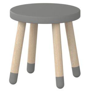Flexa taburet - Play - Grå