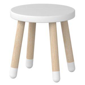 Flexa taburet - Play - Hvid