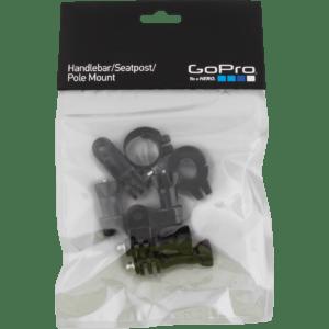 GoPro - Handlebar / Seatpost / Pole Mount - Sort