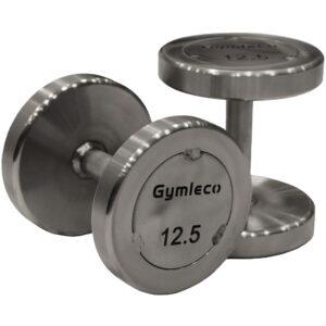Gymleco 838 Runde Stål Håndvægte 80kg (1stk)