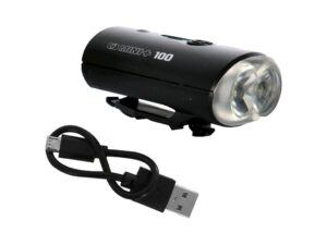 OXC Mini+ - Cykellygte front - 100 Lumen - USB opladelig