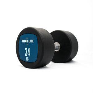 Titan Life Dumbbell Håndvægte 34kg (1stk)
