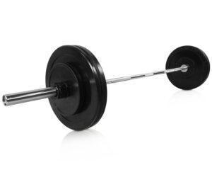 cPro9 Olympic Vægtstangssæt PAKKETILBUD 55kg