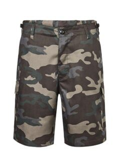 Brandit US Ranger Shorts (Dark Camo, S)
