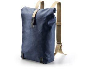 Brooks Pickwick - Daypack rygsæk - Vokset bomuld - 26 liter - Mørkblå
