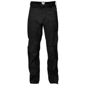 Fjällräven Mens Keb Eco-Shell Trousers, L, BLACK/550
