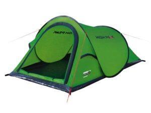 High Peak Campo - 2 personers telt - Grøn