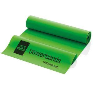 Lets Bands Powerbands Flex Grøn (medium)